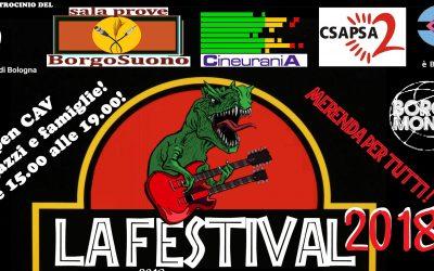 La festival 2018 vi aspetta il 20 ottobre