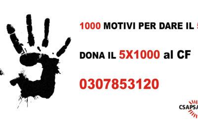 Campagna 2019 5×1000